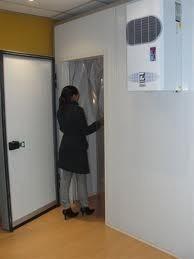 cortinas plásticas para cuartos fríos 2 metros 1 metro s