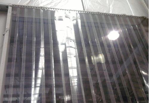 cortinas plásticas/camara frias, refrig. area climatizados