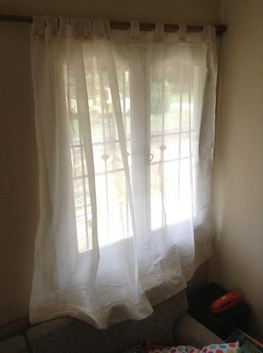 cortinas puerta ventanas varias telas, combinadas y livianas