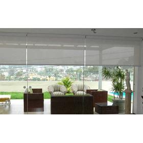 Cortinas Roller - Departamento Casa Oficina S/.115 X M2