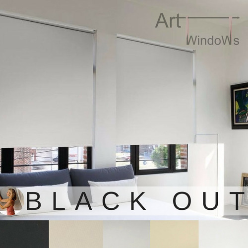 cortinas roller black out vinilica suizo fabrica  blackout