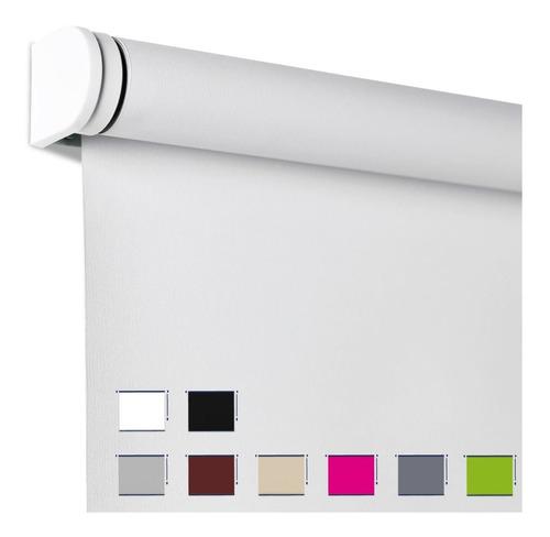 cortinas roller blackout 98% tela black out y sistema roller