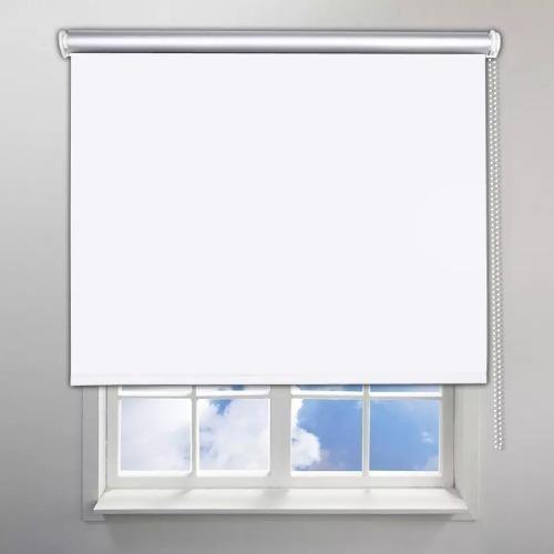 cortinas roller blackout listas para instalar en sistema