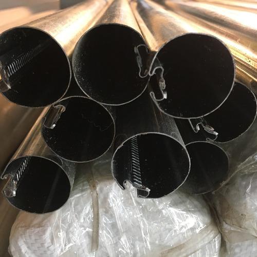 cortinas roller - caño de chapa - precio por mayor