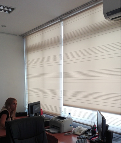 cortinas roller diseño osaka fibra natural