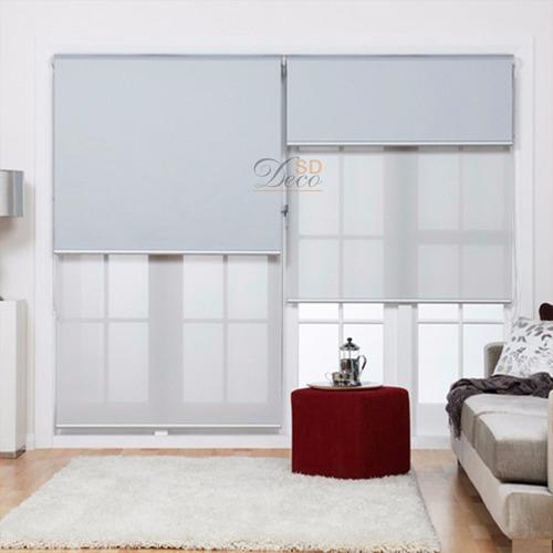 cortinas roller doble black out y  screen - sd deco belgrano
