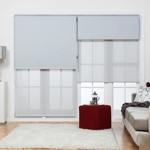 cortinas roller dobles black out & sun screen 5%  fabrica !!