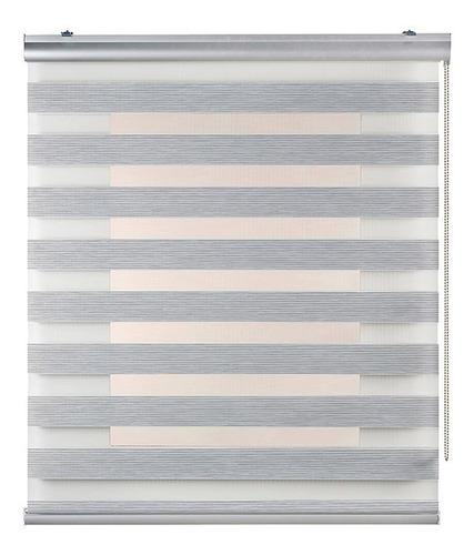 cortinas roller duo dobles 90x190 zebra dia noche - colores