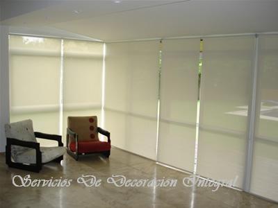Cortinas Roller Modernos Para Sala , Dormitorios Y Oficinas - U$S 29 ...