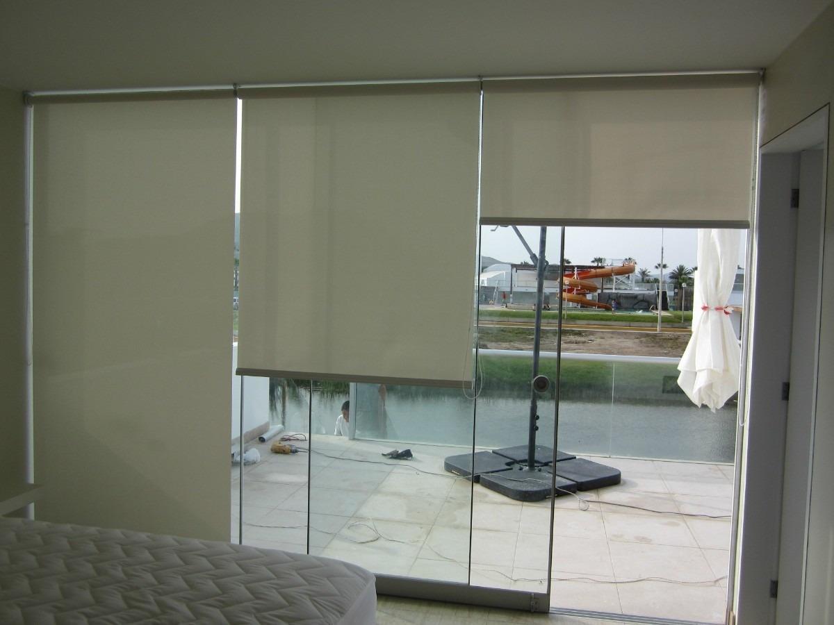 Cortinas roller modernos para sala dormitorios y oficinas u s 29 00 en mercado libre - Cortinas verticales para oficinas ...