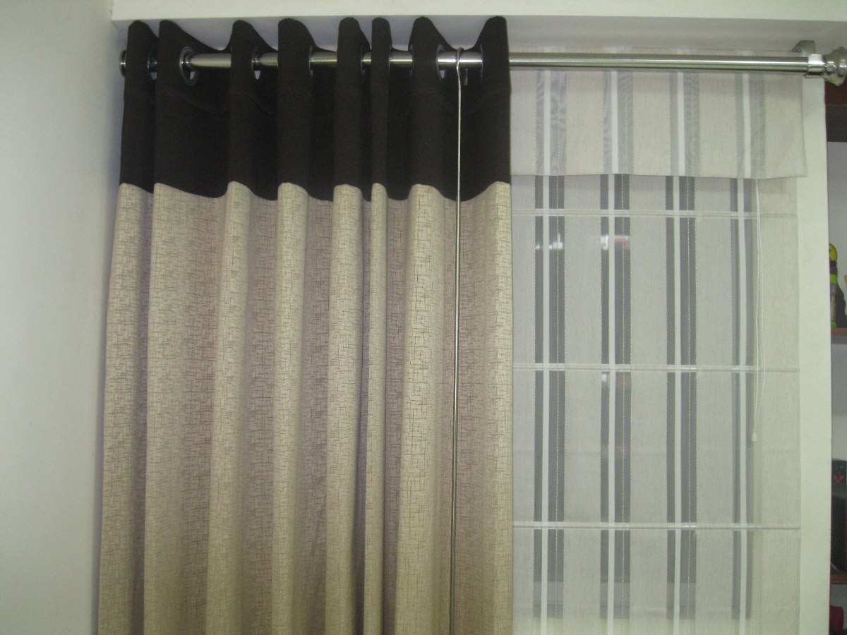 Cortinas roller modernos para sala dormitorios y for Tendencias en cortinas de salon