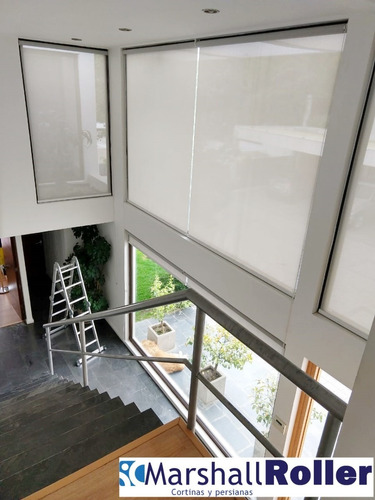 cortinas roller, persianas y toldos a medida