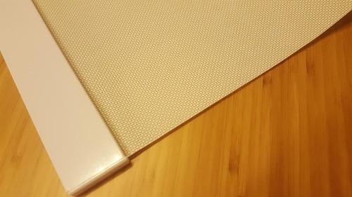 cortinas roller screen filtro solar color natural 190x165