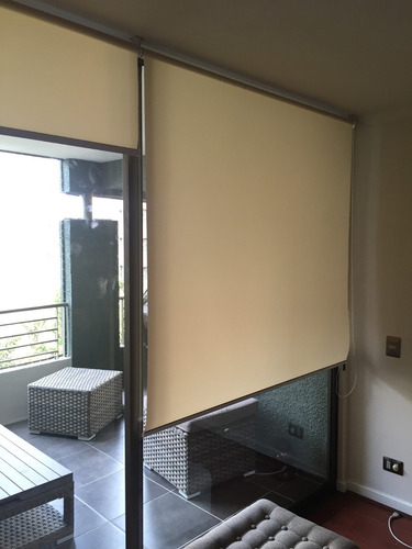 cortinas roller screen o traslucida - medidas estandar
