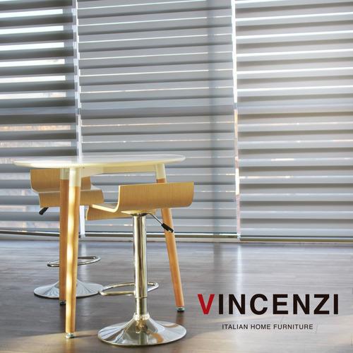 cortinas roller store duo día/noche zebra 140x240 gris r3543