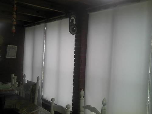 cortinas roller sun screen 5% - tela importada suiza