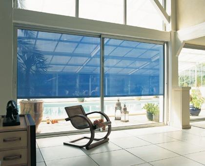 cortinas roller sun screen colores fabrica