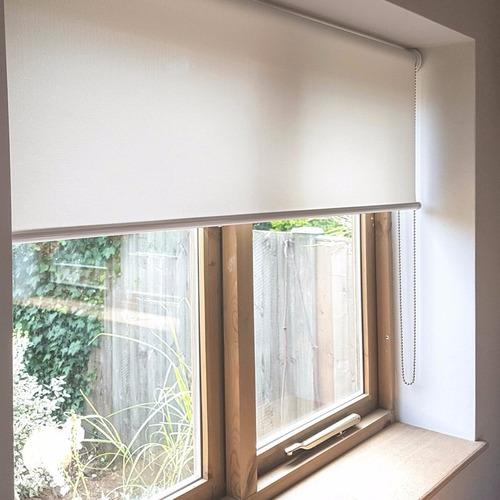 cortinas roller sun screen listas para instalar en sistema