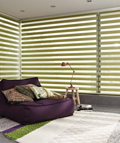 cortinas roller zebra o duo (dobles) decorartehogar