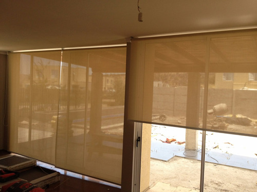 cortinas rollers termicas de black out y screen., colores