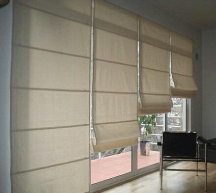 Resultado de imagen para cortinas romanas