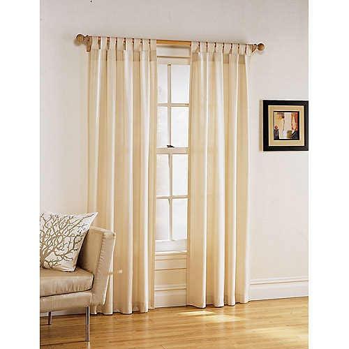 Cortinas rusticas para salon excellent with cortinas - Telas rusticas para cortinas ...