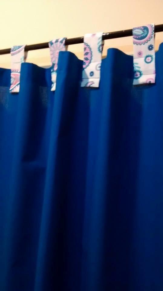 cortinas super originales en tela de diseo