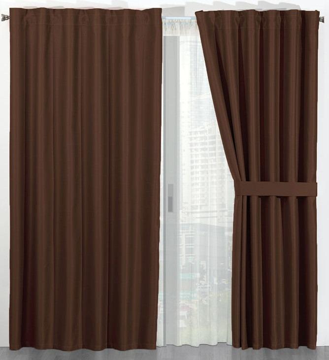 Cortinas termicas black out bloquean luz ruido frio - Tela termica para cortinas ...