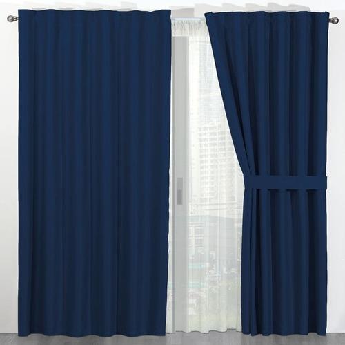 cortinas termicas black out bloquean luz, ruido, frio, calor