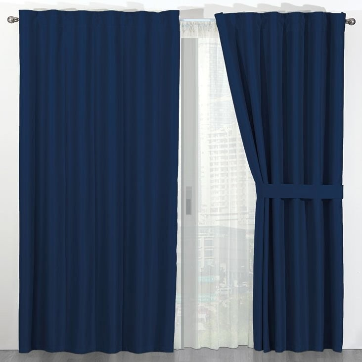 Cortinas termicas black out varios colores envio gratis en mercado libre - Comprar tela cortinas ...