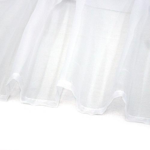 cortinas translucidas transparentes tergal blanco o beige