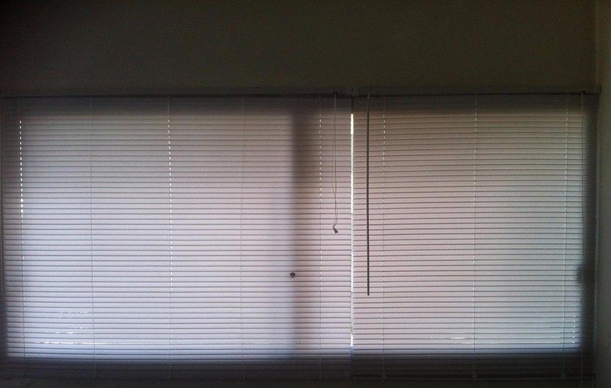 cortinas venecianas en pvc blancas marfil 890 00 en