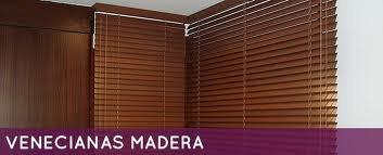 cortinas venecianas  y rollers shades en madera , aluminio ,