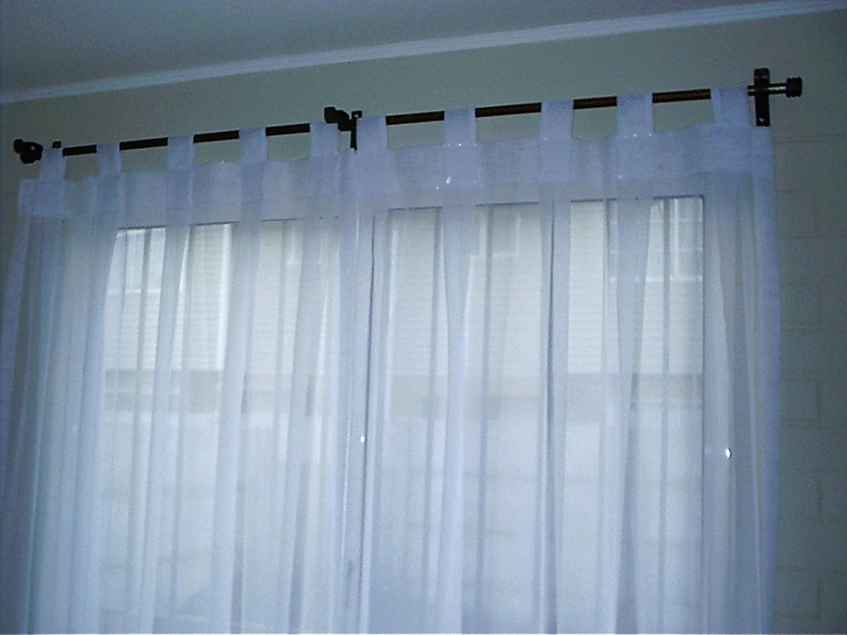 Cortinas visillos de todo tipo y modelo en for Como poner ganchos de cortinas
