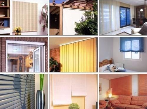 cortinas y persianas ,somos fabicantes e importadores direct