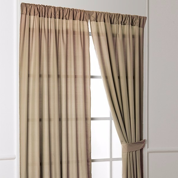 Cortinas zafiro color beige intima 2018 en for Cortinas para salon beige