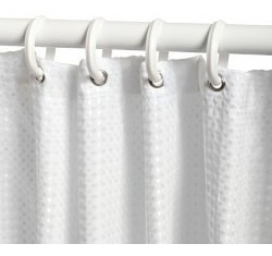 cortinero ajustable para baño ba0022 5pzas.