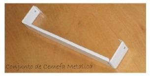 cortinero de cenefa 6 cm desde la 200cm hasta 390 cm