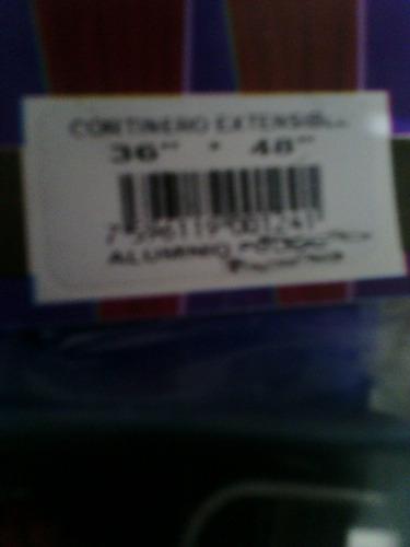 cortinero extensible de 91.4 x 121.9