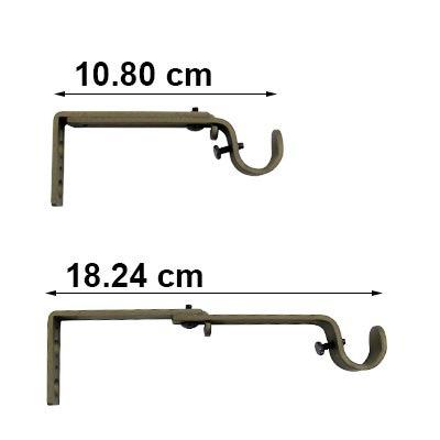 cortinero vari decorativo 220-8610-60 acorn ab graber