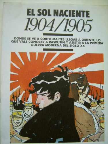 corto maltés n°4: las helvéticas, tango y el sol naciente