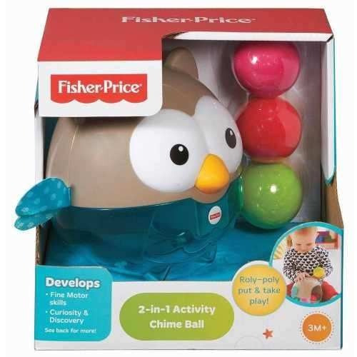 coruja chime ball fisher-price - mattel cdr53