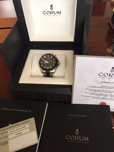 corum admirals cup leap second 44 mm titanio chronograph