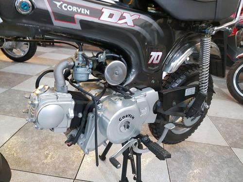 corven dx 70 0km 2012 -  entrega inmediata
