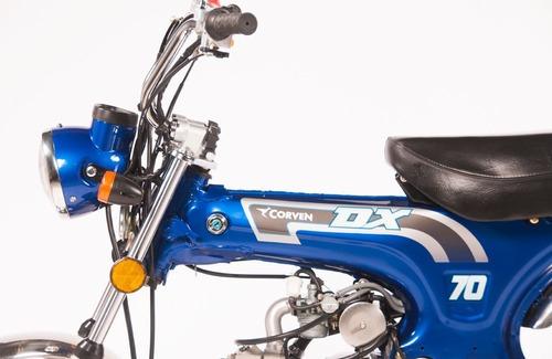 corven dx 70cc - motozuni ciudad evita