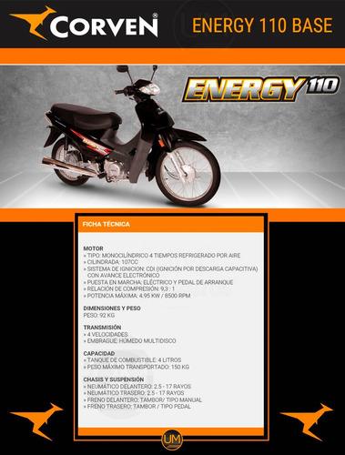 corven energy 110 r2 base entrega inmediata!!