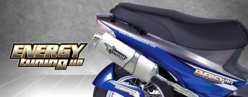 corven energy 110cc tunning - motozuni  g. catán