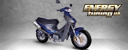 corven energy 110cc tunning - motozuni  v. del pino