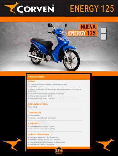 corven energy 125 motos