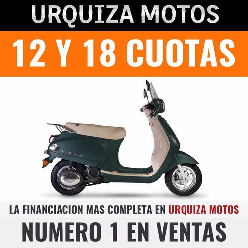corven expert milano 150 scooter retro vintage urquiza motos